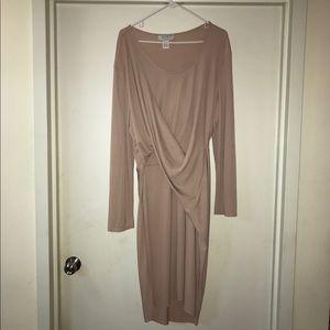 Draped Dress NWOT